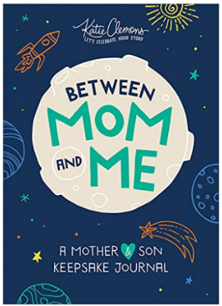This is an image of boy's between mom and me book