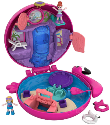 This is an image of girl's pocket world toy in colorful colors