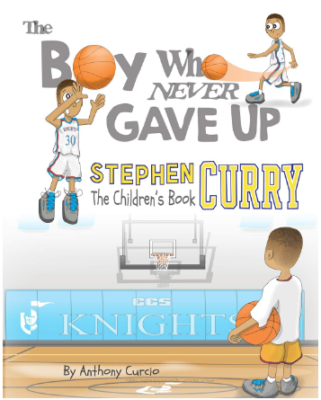 This is an image of book named bpy who never gave up