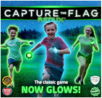 This is an image of boy's Capture the flag game