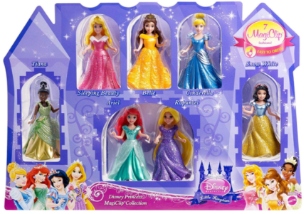 This is an image of girl's doll gift set pack by disney