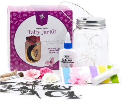 This is an image of girl's fairy craft kit