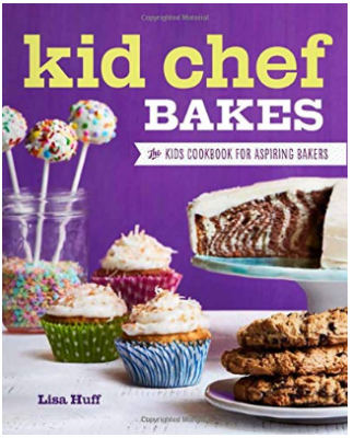 This is an image of kid's chef bakes book