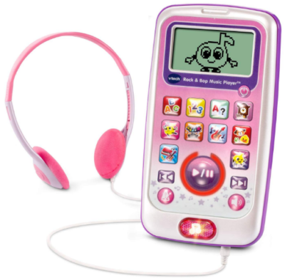 This is an image of girl's music player by Vtech in pink color