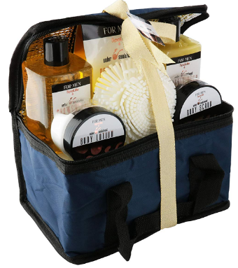 This is an image of boy's natural bath and luxury spa set