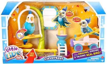 This is an image of girl's birds toys set with sounds in colorful colors