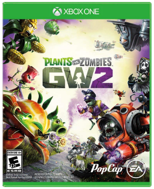 This is an image of kid's plants vs zombies game for xbox one