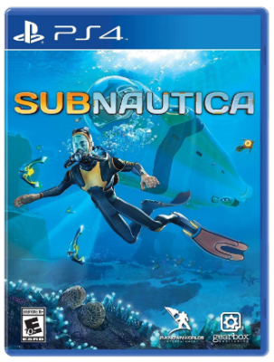 This is an image of kid's Subnautica game for playstation 4