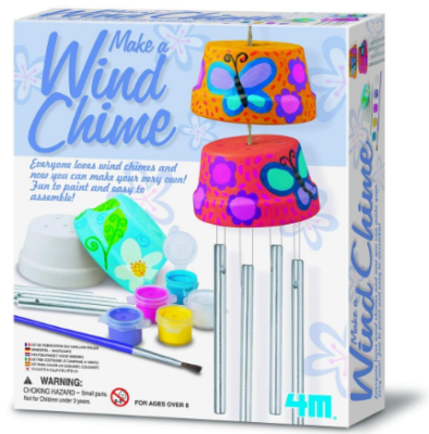 This is an image of girl's wind chime craft kit