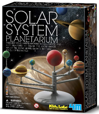 This is an image of kid's $M solar system planetarium