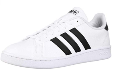 This is an image of a white sneakers for teenage girls.