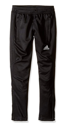 This is an image of a black soccer pants for teenage boys.