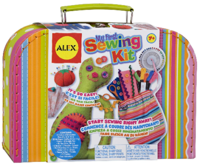 This is an image of kid's Alex Craft My First Sewing Kit Kids Art and Craft Activity