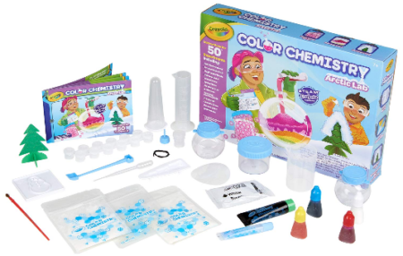 This is an image of kid's Arctic Color Chemistry Set for Kids