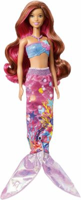 This is an image of a mermaid barbie doll.