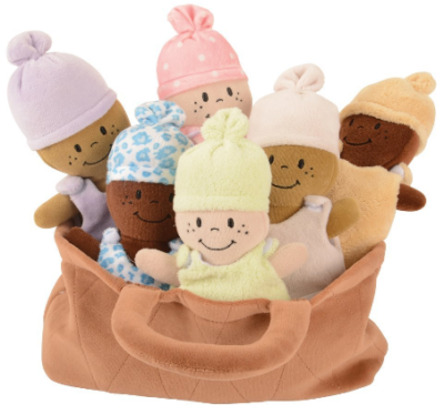 This is an image of kid's Basket of Babies Creative Minds