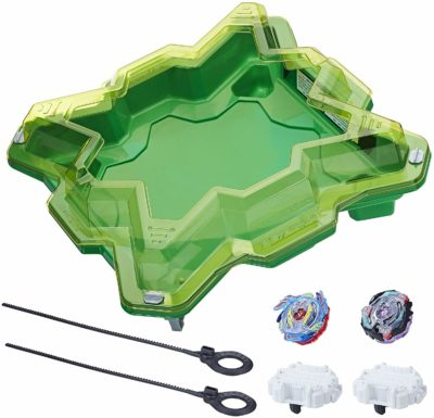 This is an image of a Star Storm battle set by Beyblade.