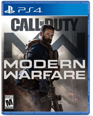 This is an image of Modern Warfare edition from Call of Duty Game for PS4.