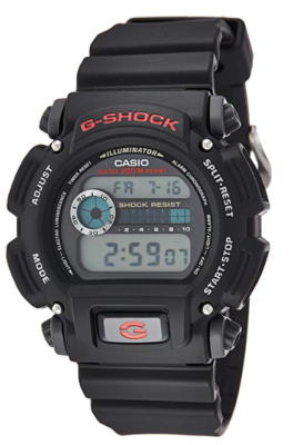 This is an image of a black Casio G shock sport watch for boys.