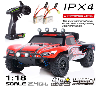 This is an image of kid's Electric Remote Control Off Road Monster Truck