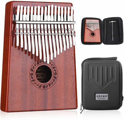 This is an image of a 17 keys kalimba.
