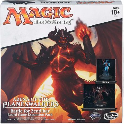 This is an image of a Magic The Gather board game, Battle for Zendikar Expansion board game.
