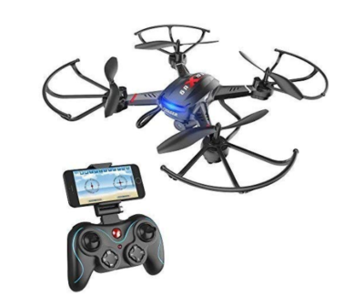 This is an image of a drone with controller by Holy Stone.