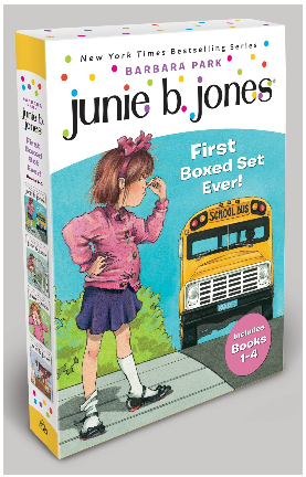This is an image of kid's joness first boxed set ever