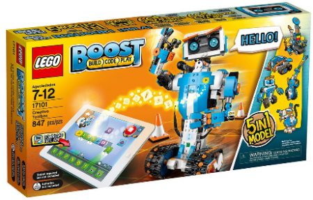 This is an image of kid's LEGO Boost Creative Toolbox