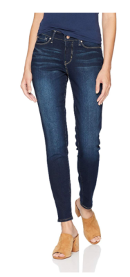 This is an image of a modern skinny jeans for teenage girls.