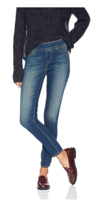 This is an image of a women's skinny jeans by Levi.