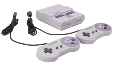 This is an image of a Nintendo Classic edition system for teens.