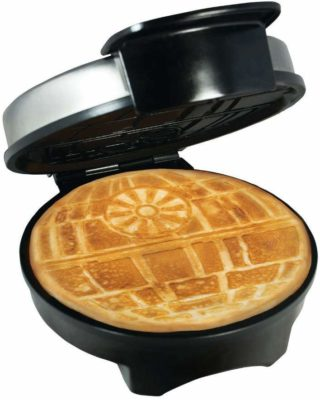 This is an image of a star wars waffle maker by Pangea Brands.