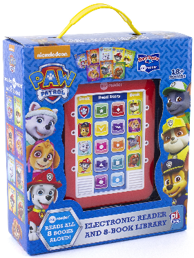 This is an image of kid's paw patrol ;e reader electronic reader