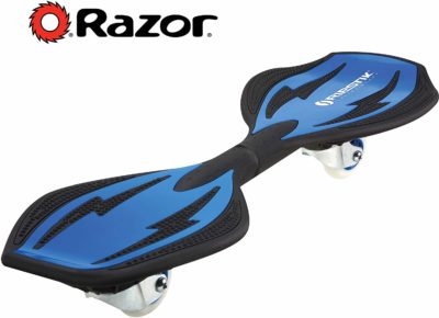 This is an image of a blue RipStik caster board for teens.
