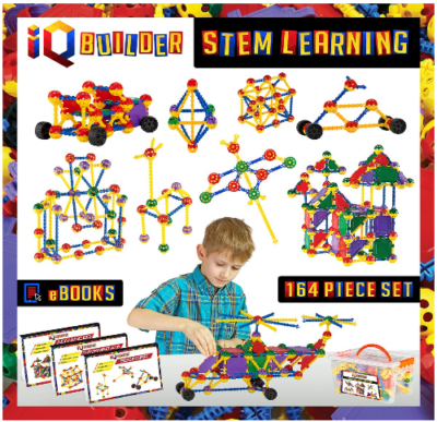 This is an image of kid's STEM learning toys