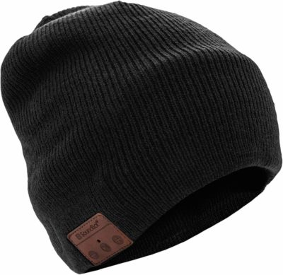 This is an image of a wireless beanie headset for teens.