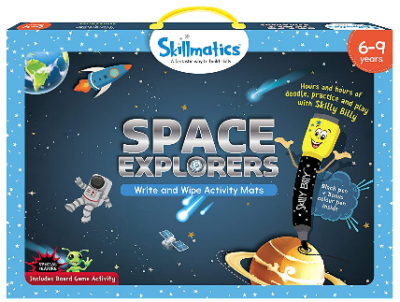 This is an image of kid's space explorers
