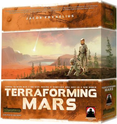 This is an image of a Transforming Mars card game.