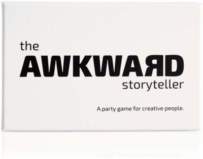This is an image of a party game called The Awkward Storyteller.