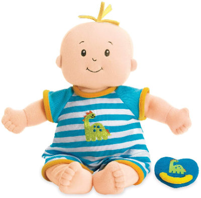 This is an image of kid's toy stella boy soft first baby doll