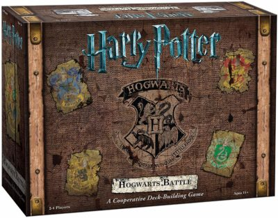 This is an image of a Harry Potter Hogwarts Battle card game.