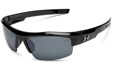 This is an image of a black polarized sunglasses for teenage boys.