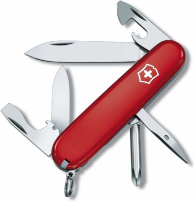 This is an image of a red swiss army knife by Click image to open expanded view Victorinox Swiss.