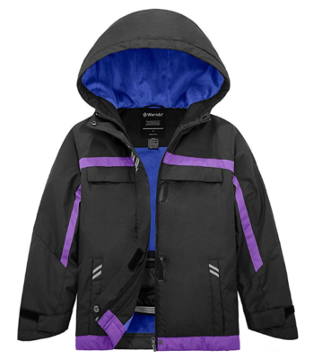 This is an image of a winter jacket for teenage girls.