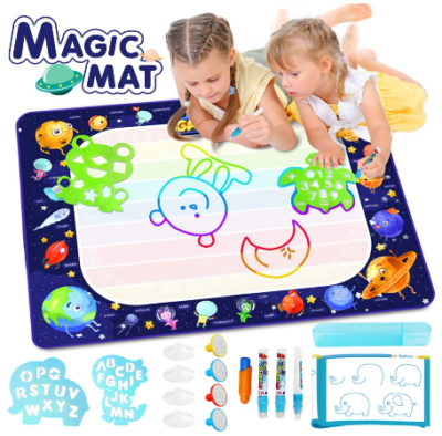 This is an image of kid's large water doodle mat