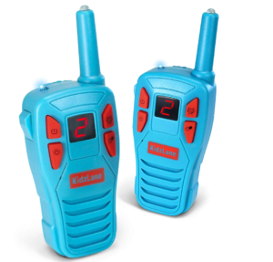 this is an image of kidzlane voice changing walkie talkies