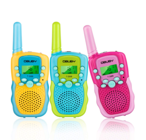 this is an image of obuby walkie talkies for kids