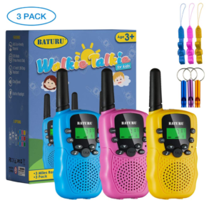this is an image of sanjoin walkie talkies for kids