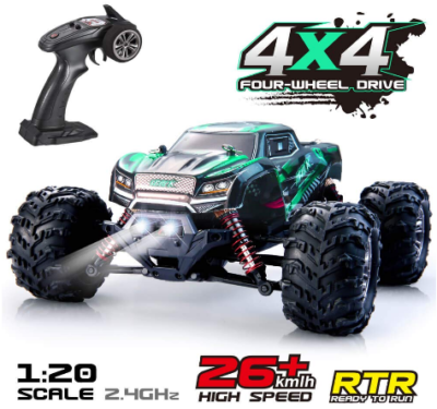 This is an image of kid's Remote Control Car RC Car High Speed Off-Road Vehicle